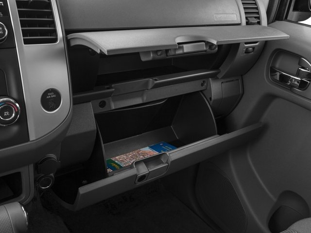 2016 Nissan Frontier Prices and Values Crew Cab SV 2WD glove box