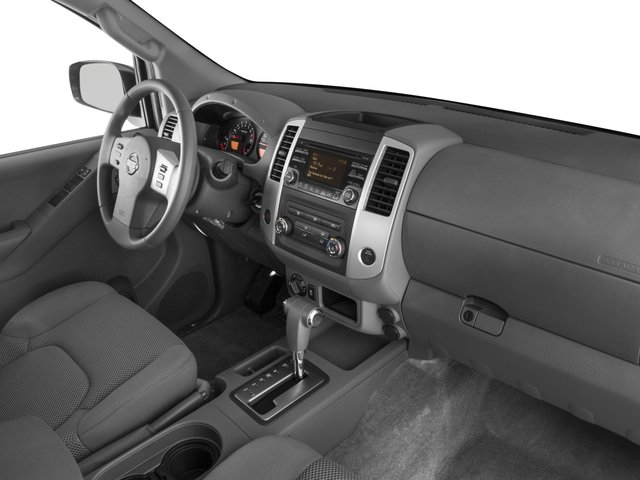 2016 Nissan Frontier Prices and Values Crew Cab SV 2WD passenger's dashboard