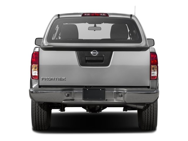 2016 Nissan Frontier Prices and Values Crew Cab S 2WD rear view