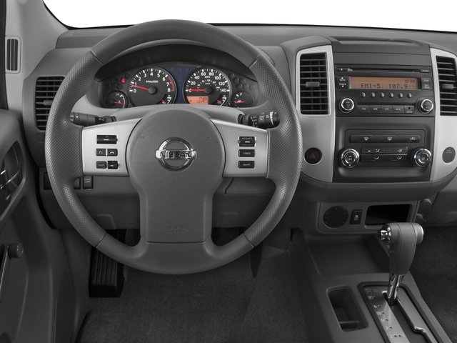 2016 Nissan Frontier Prices and Values Crew Cab S 2WD driver's dashboard
