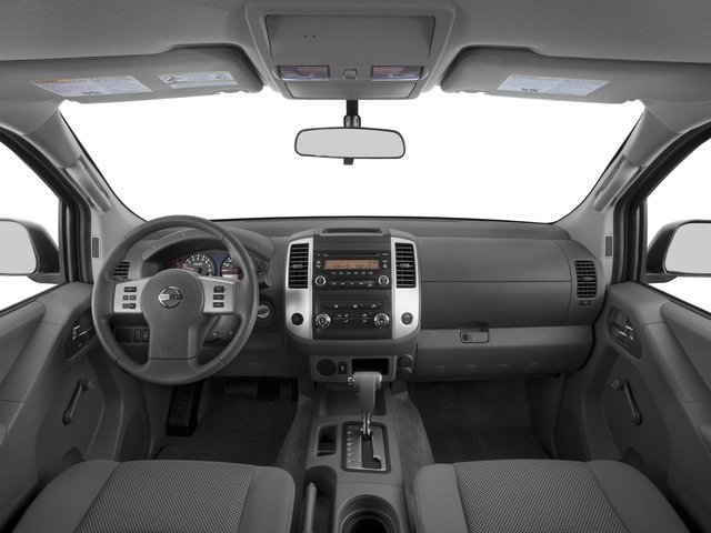 2016 Nissan Frontier Prices and Values Crew Cab S 2WD full dashboard