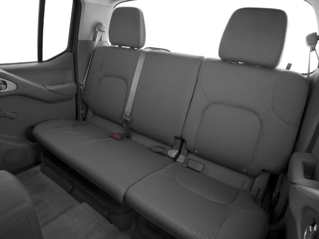 2016 Nissan Frontier Prices and Values Crew Cab S 2WD backseat interior
