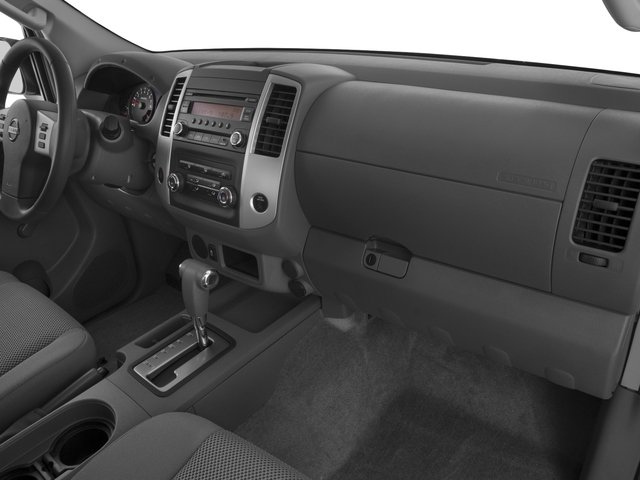 2016 Nissan Frontier Prices and Values Crew Cab S 2WD passenger's dashboard