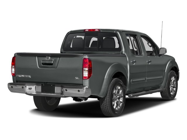 2016 Nissan Frontier Prices and Values Crew Cab SL 4WD side rear view
