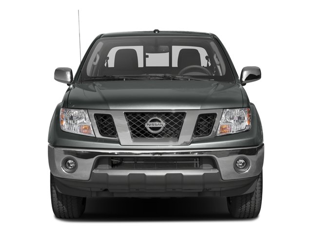 2016 Nissan Frontier Prices and Values Crew Cab SL 4WD front view