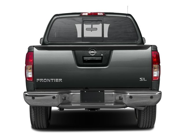 2016 Nissan Frontier Prices and Values Crew Cab SL 4WD rear view