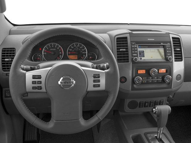 2016 Nissan Frontier Prices and Values Crew Cab SL 4WD driver's dashboard