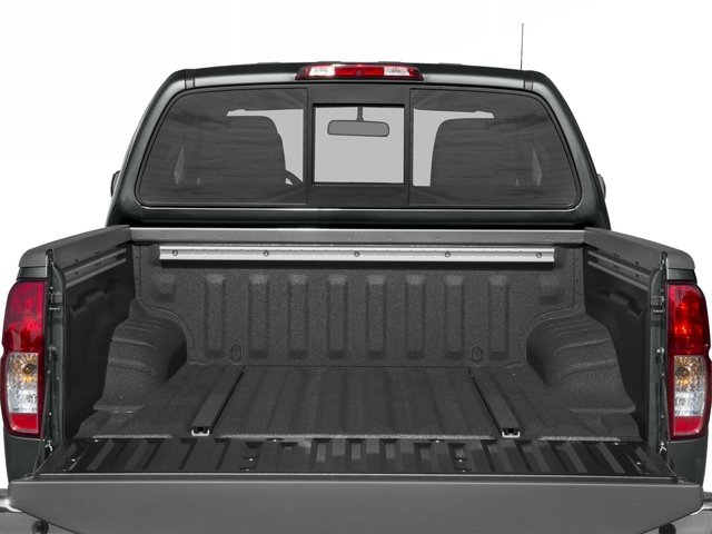 2016 Nissan Frontier Prices and Values Crew Cab SL 4WD open trunk