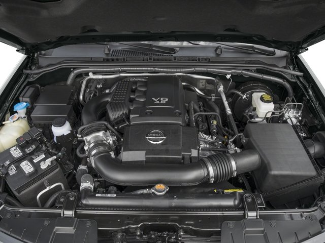2016 Nissan Frontier Pictures Frontier Crew Cab SL 4WD photos engine