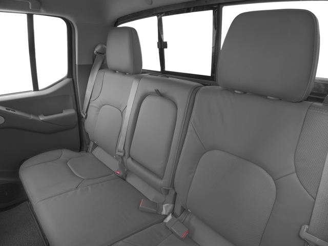2016 Nissan Frontier Prices and Values Crew Cab SL 4WD backseat interior