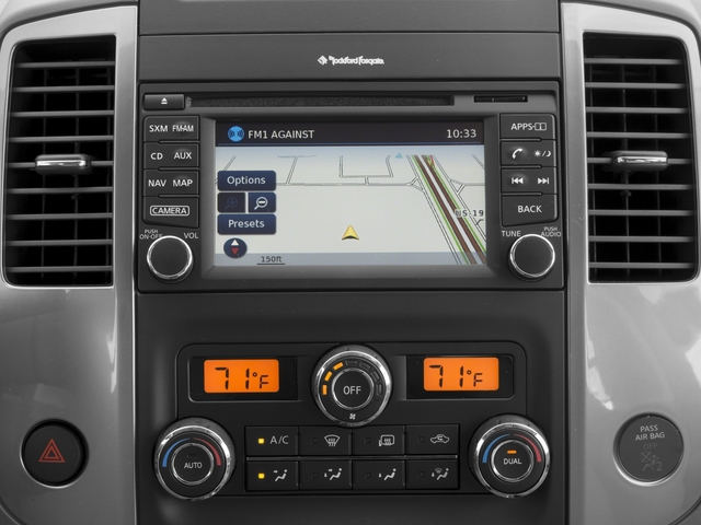 2016 Nissan Frontier Pictures Frontier Crew Cab SL 4WD photos navigation system