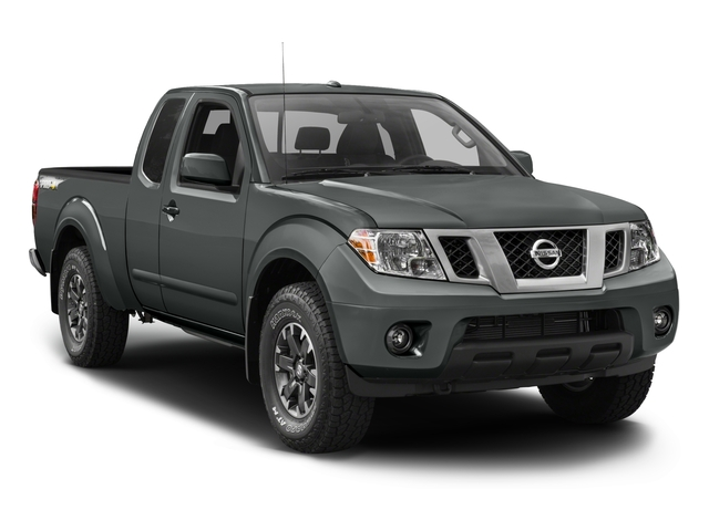 2016 Nissan Frontier Prices and Values King Cab PRO-4X 4WD side front view