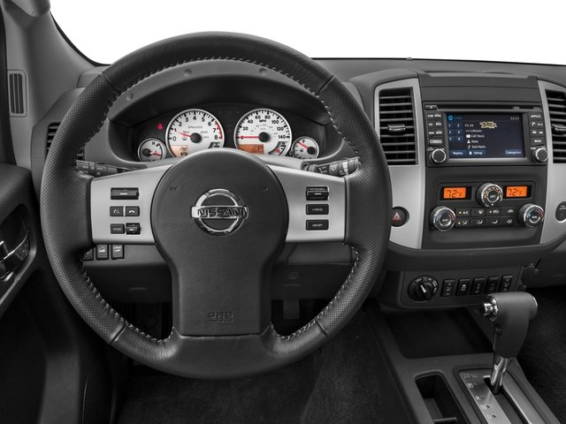 2016 Nissan Frontier Prices and Values King Cab PRO-4X 4WD driver's dashboard