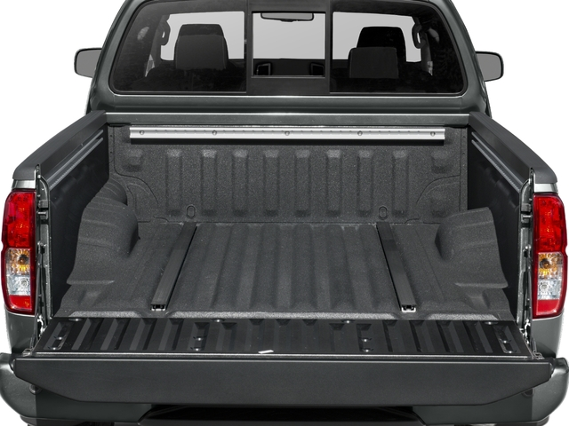 2016 Nissan Frontier Prices and Values King Cab PRO-4X 4WD open trunk