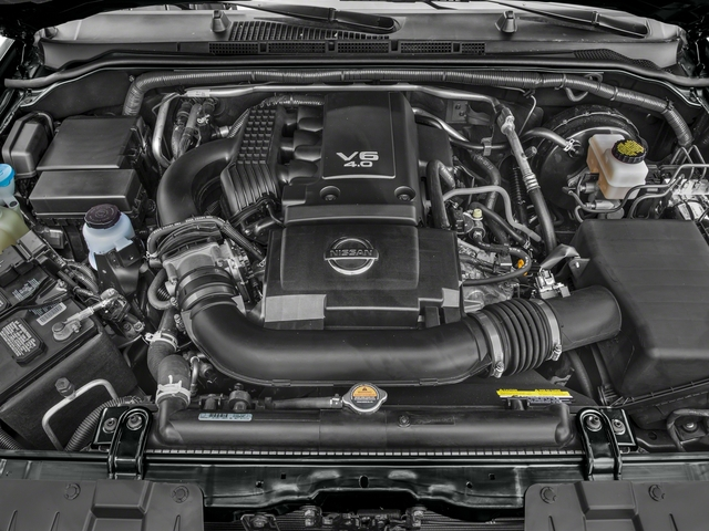 2016 Nissan Frontier Prices and Values King Cab PRO-4X 4WD engine