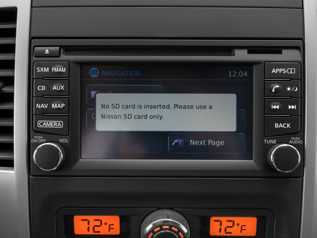 2016 Nissan Frontier Prices and Values King Cab PRO-4X 4WD navigation system