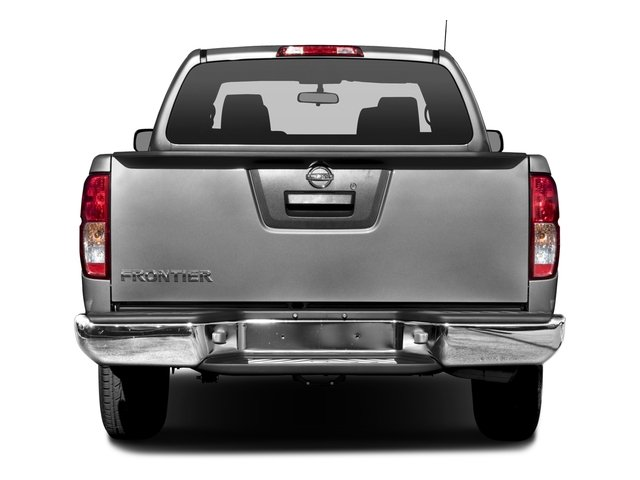 2016 Nissan Frontier Pictures Frontier King Cab S 2WD photos rear view