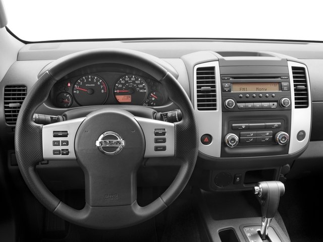 2016 Nissan Frontier Pictures Frontier King Cab S 2WD photos driver's dashboard