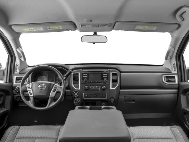2016 Nissan Titan XD Prices and Values Crew Cab S 4WD V8 full dashboard