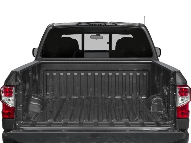 2016 Nissan Titan XD Prices and Values Crew Cab S 4WD V8 open trunk