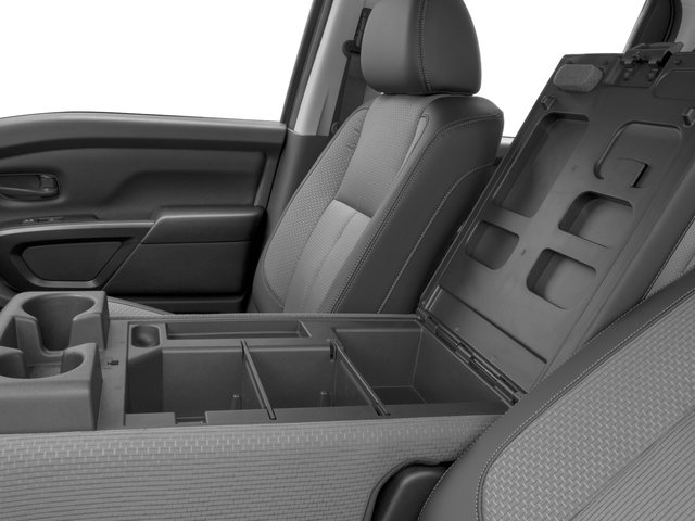 2016 Nissan Titan XD Prices and Values Crew Cab S 4WD V8 center storage console