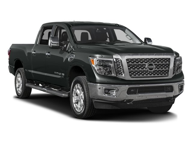 2016 Nissan Titan XD Pictures Titan XD Crew Cab SL 2WD V8 photos side front view