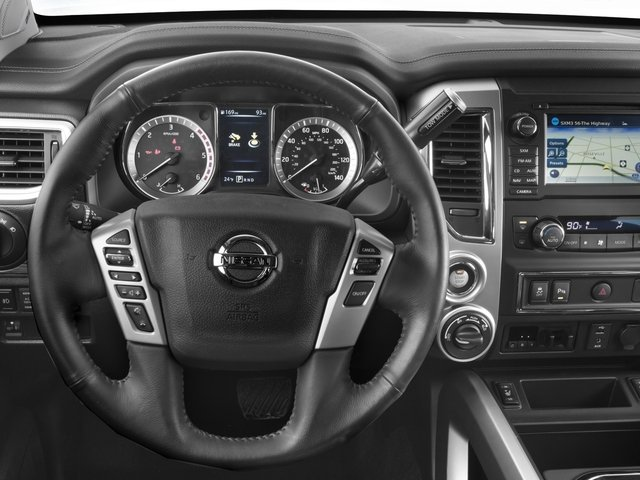 2016 Nissan Titan XD Pictures Titan XD Crew Cab SL 2WD V8 photos driver's dashboard