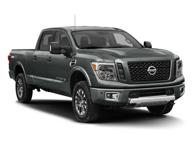 2016 Nissan Titan XD Prices and Values Crew Cab Pro-4X 4WD V8 side front view