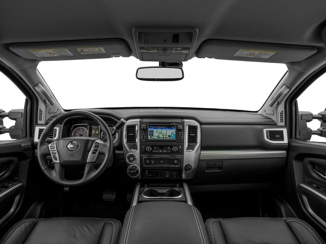 2016 Nissan Titan XD Prices and Values Crew Cab Pro-4X 4WD V8 full dashboard