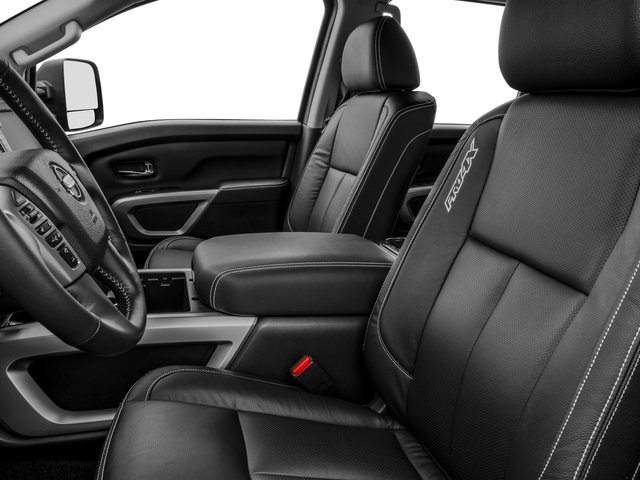 2016 Nissan Titan XD Prices and Values Crew Cab Pro-4X 4WD V8 front seat interior