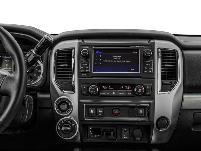 2016 Nissan Titan XD Prices and Values Crew Cab Pro-4X 4WD V8 stereo system