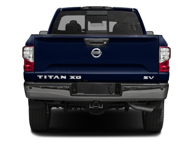 2016 Nissan Titan XD Prices and Values Crew Cab SV 4WD V8 rear view