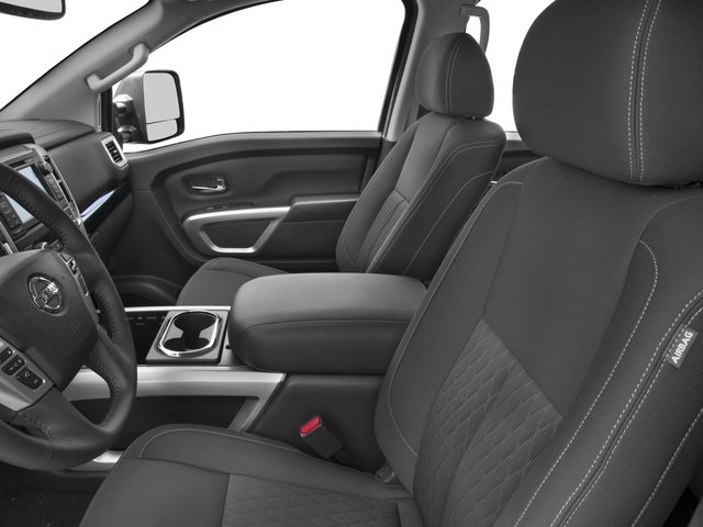 2016 Nissan Titan XD Prices and Values Crew Cab SV 4WD V8 front seat interior