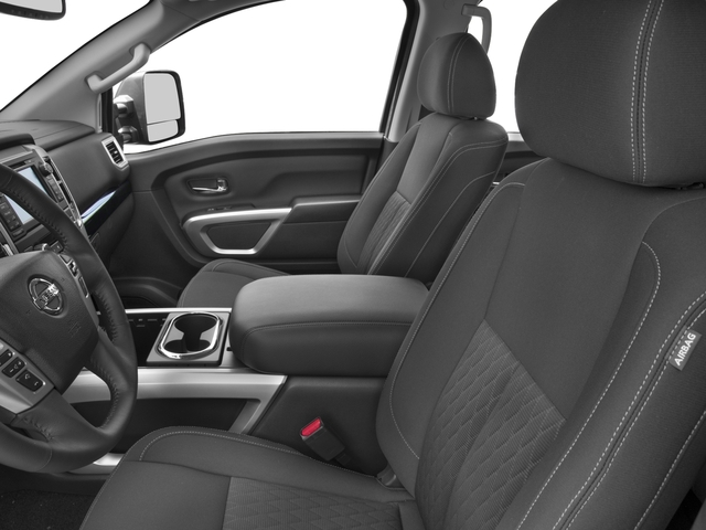 2016 Nissan Titan XD Prices and Values Crew Cab SV 2WD V8 front seat interior