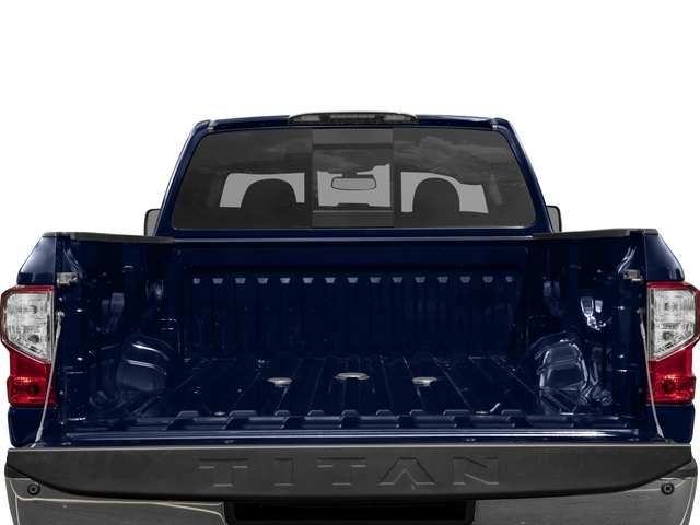 2016 Nissan Titan XD Prices and Values Crew Cab SV 2WD V8 open trunk