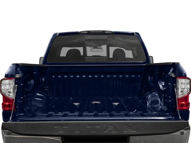 2016 Nissan Titan XD Prices and Values Crew Cab SV 4WD V8 open trunk