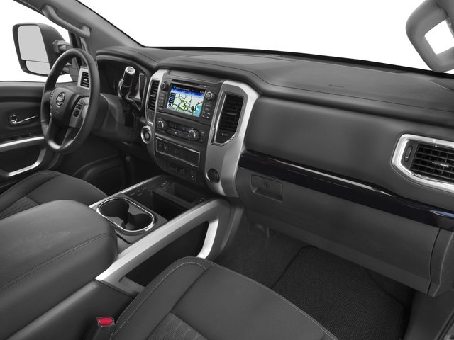 2016 Nissan Titan XD Prices and Values Crew Cab SV 2WD V8 passenger's dashboard