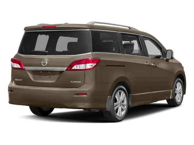 2016 Nissan Quest Prices and Values Wagon 5D Platinum V6 side rear view