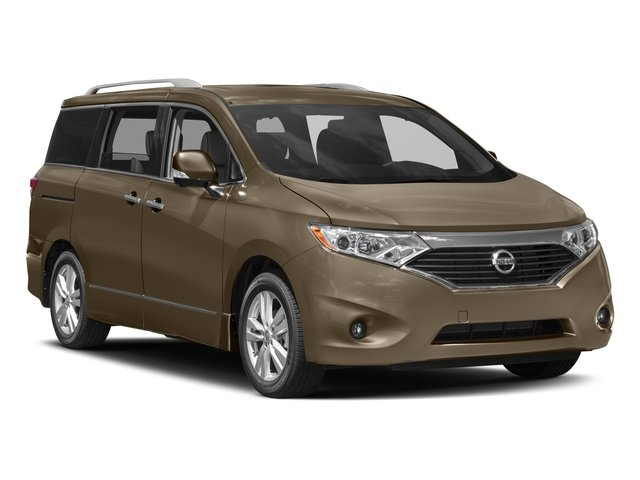 2016 Nissan Quest Prices and Values Wagon 5D Platinum V6 side front view
