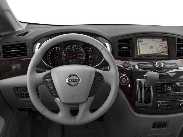 2016 Nissan Quest Prices and Values Wagon 5D Platinum V6 driver's dashboard