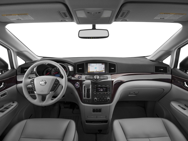2016 Nissan Quest Prices and Values Wagon 5D Platinum V6 full dashboard
