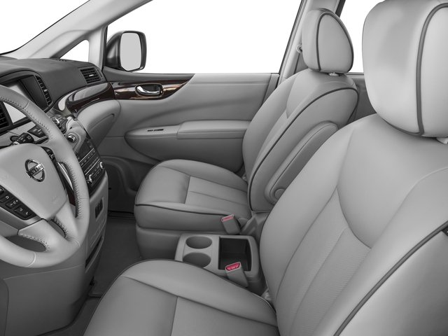 2016 Nissan Quest Prices and Values Wagon 5D Platinum V6 front seat interior