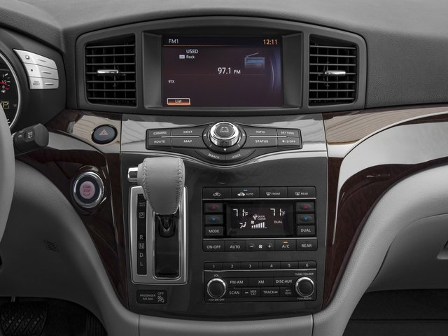 2016 Nissan Quest Prices and Values Wagon 5D Platinum V6 stereo system