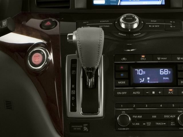 2016 Nissan Quest Prices and Values Wagon 5D Platinum V6 center console