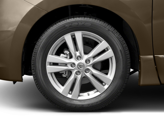 2016 Nissan Quest Prices and Values Wagon 5D Platinum V6 wheel