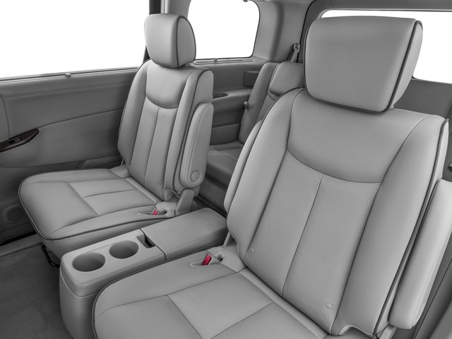 2016 Nissan Quest Prices and Values Wagon 5D Platinum V6 backseat interior