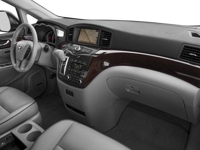 2016 Nissan Quest Prices and Values Wagon 5D Platinum V6 passenger's dashboard