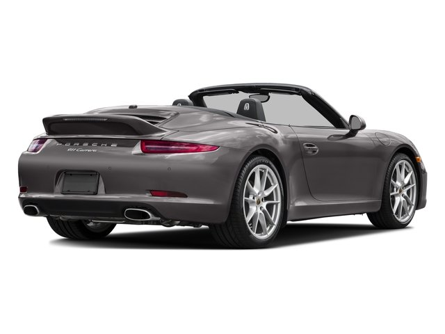 2016 Porsche 911 Prices and Values Cabriolet 2D S H6 side rear view