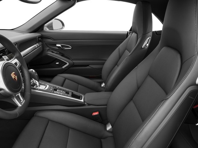 2016 Porsche 911 Prices and Values Cabriolet 2D Black Edition H6 front seat interior