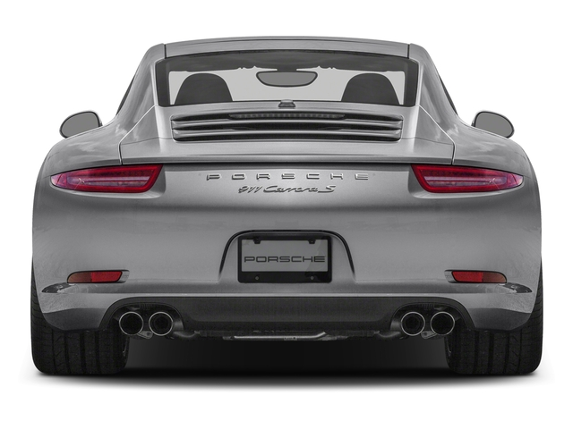 2016 Porsche 911 Pictures 911 Coupe 2D S H6 photos rear view